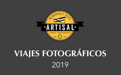 Catálogo de Viajes previstos 2019